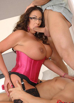 image Hot cougar big tits pov first time anal for