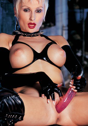Hot milf in latex and stockings in superb sex 9