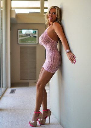Mini dress and tits