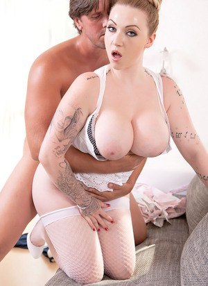Hot ass and busty barbara bieber smashed by georges big cock 9